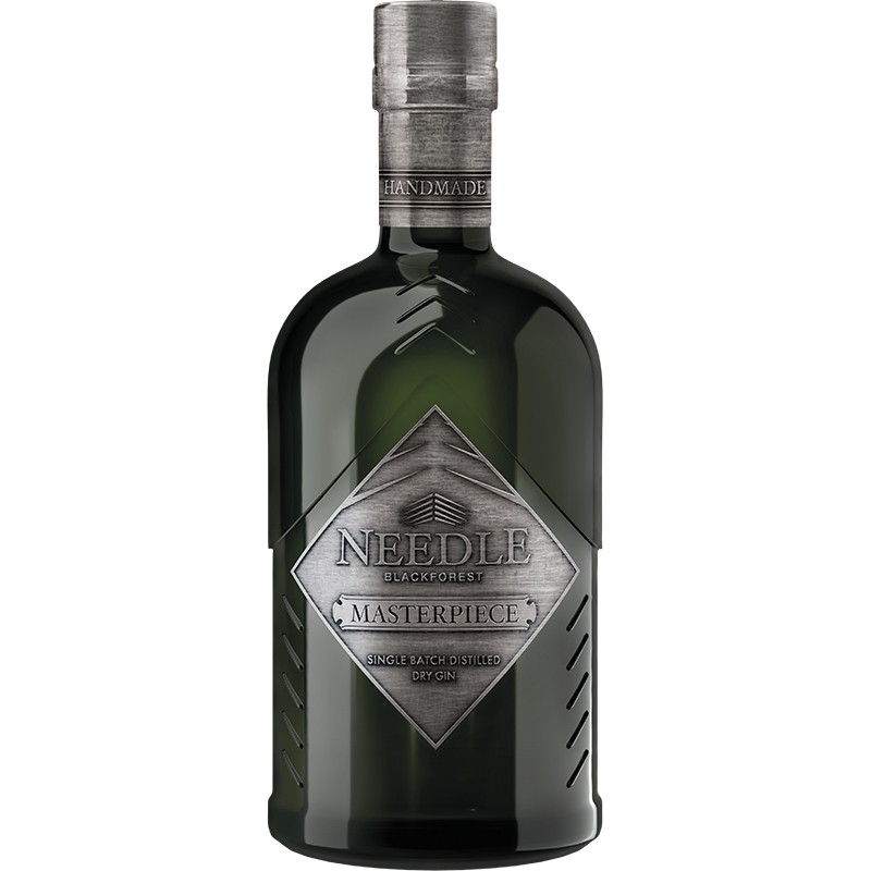 Needle Masterpiece Single Batch Destilled Dry Gin 45% 0,5L