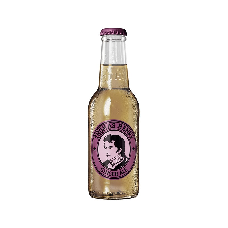 Thomas Henry Ginger Ale 24x0,2 l